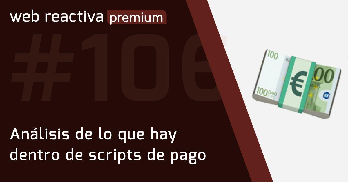 WRP 106. Análisis de lo que hay dentro de scripts de pago