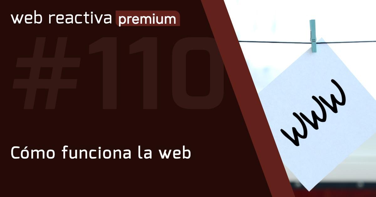 WRP 110. Cómo funciona la web