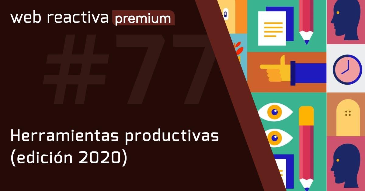 WRP 77. Herramientas productivas (edición 2020)